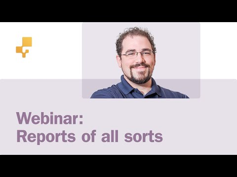 inFlow Webinar: Reports of all sorts