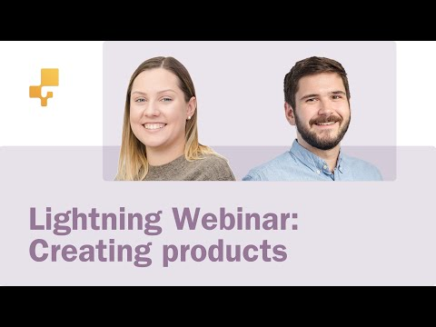 Lightning Webinar: Create Products in our Windows, Web, and Mobile apps